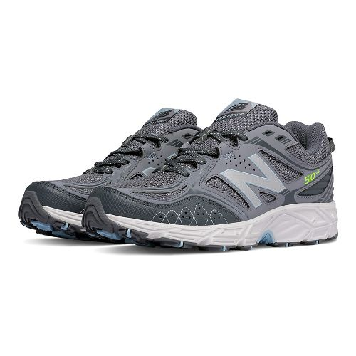 Womens New Balance T510v3 Trail Running Shoe - Grey 5