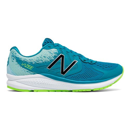 Womens New Balance Vazee Prism v2 Running Shoe - Blue/Lime 10.5