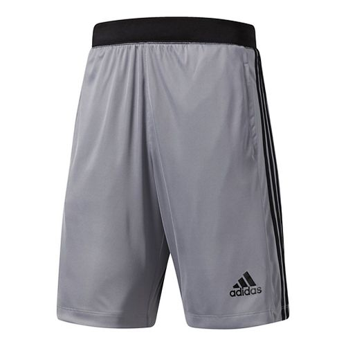 Mens Adidas Designed-2-Move 3-Stripes Unlined Shorts - Grey XL