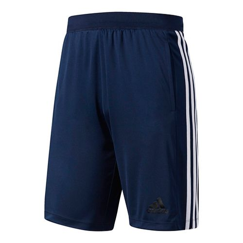 Mens Adidas Designed-2-Move 3-Stripes Unlined Shorts - Navy/White XXL