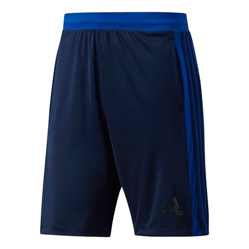 Mens Adidas Designed-2-Move 3-Stripes Unlined Shorts - Navy/Royal L