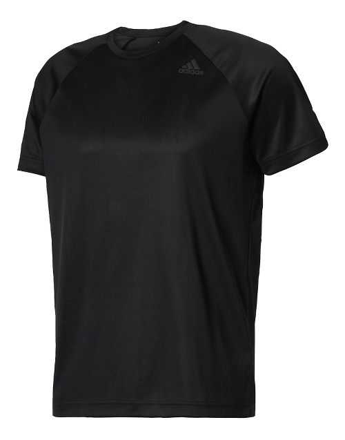 Mens Adidas Designed-2-Move Tee Short Sleeve Technical Tops - Black L