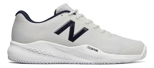 Mens New Balance 996v3 Court Shoe - White/White 10