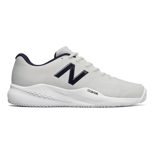 Mens New Balance 996v3 Court Shoe - White/White 9.5