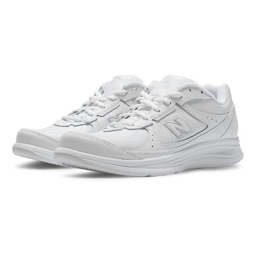Womens New Balance 577v1 Walking Shoe - White 12