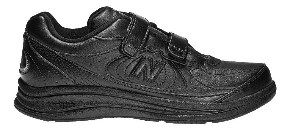 Womens New Balance 577v1 Hook and Loop Walking Shoe - Black 7
