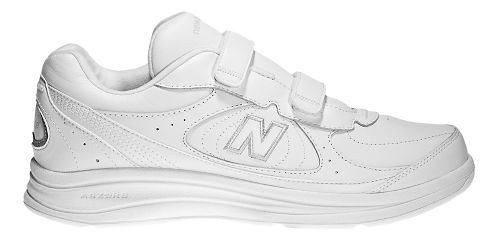 Womens New Balance 577v1 Hook and Loop Walking Shoe - White 6.5