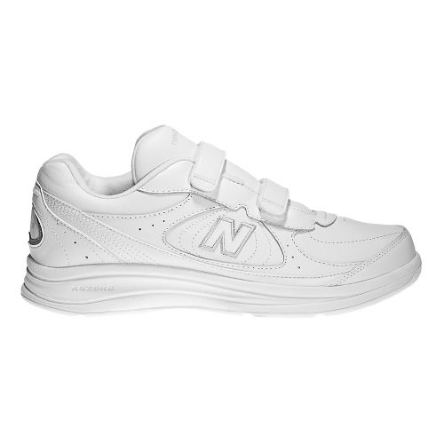 Womens New Balance 577v1 Hook and Loop Walking Shoe - White 5.5