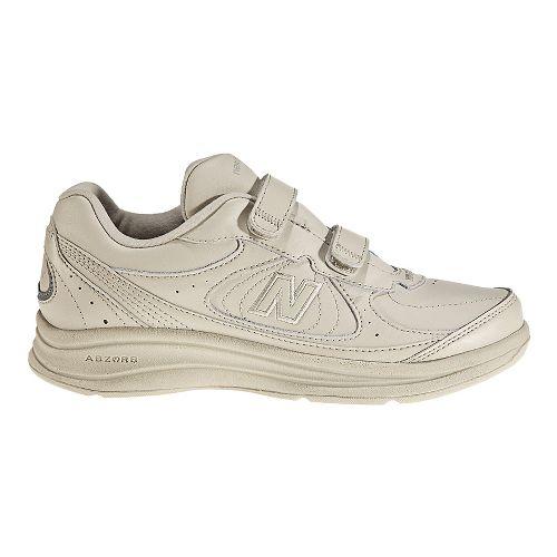 Womens New Balance 577v1 Hook and Loop Walking Shoe - Bone 5.5