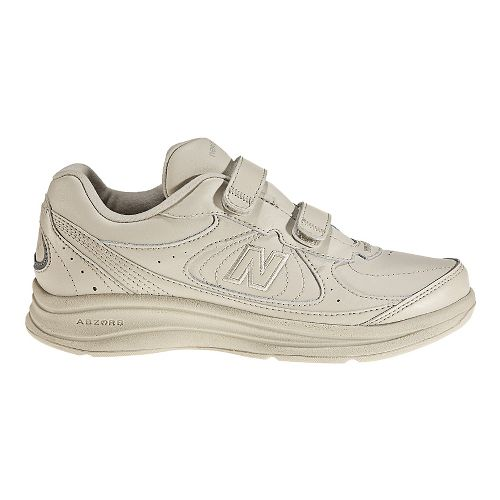 Womens New Balance 577v1 Hook and Loop Walking Shoe - Bone 7.5