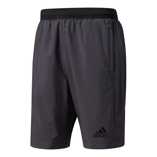Mens Adidas Designed-2-Move Woven Unlined Shorts - Dark Grey/Black XL