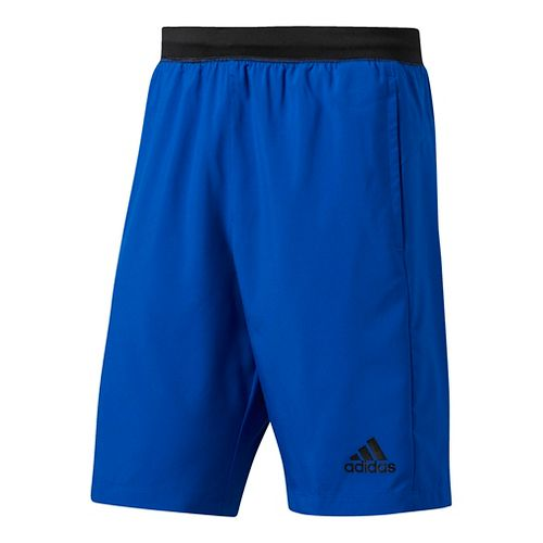 Mens Adidas Designed-2-Move Woven Unlined Shorts - Blue/Black S