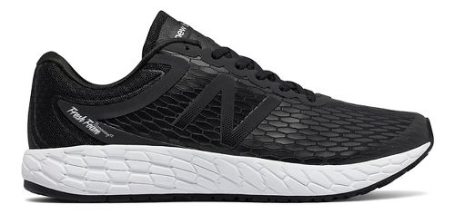 Mens New Balance Fresh Foam Boracay v3 Running Shoe - Black/White 12