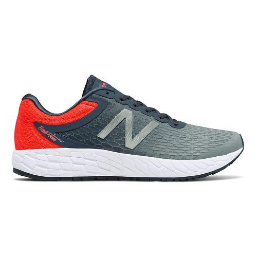 Mens New Balance Fresh Foam Boracay v3 Running Shoe - Grey/Orange 10.5