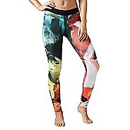 Womens Reebok Acid Fade Tights & Leggings Pants