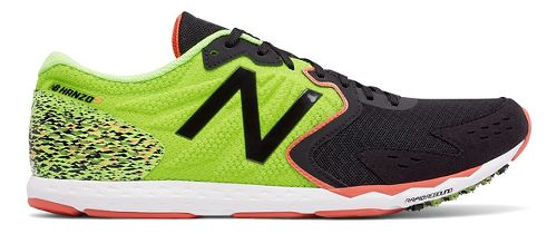 Mens New Balance Hanzo S Racing Shoe - Lime 10.5