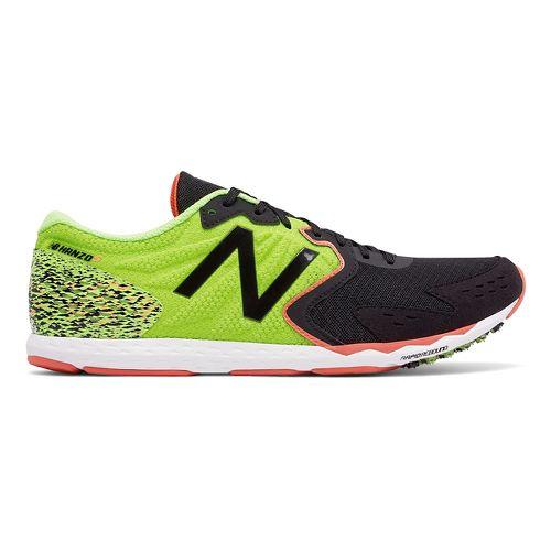 Mens New Balance Hanzo S Racing Shoe - Lime 10