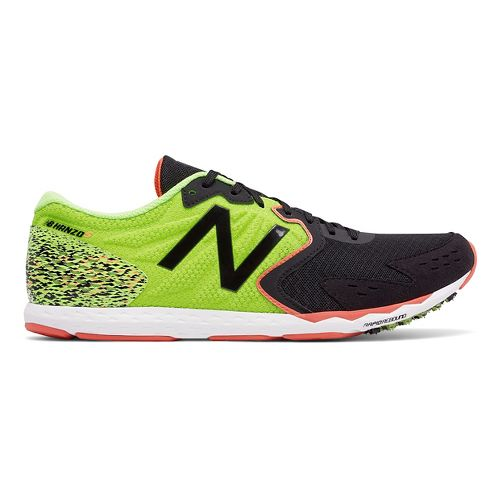 Mens New Balance Hanzo S Racing Shoe - Lime 9.5