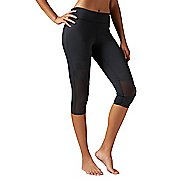 Womens Reebok Cardio Capri Tights & Leggings Pants