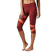 Womens Reebok Cardio Capri Tights & Leggings Pants
