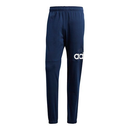 Mens Adidas Essential Performance Logo Pants - Navy/White S