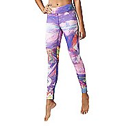 Womens Reebok Dance Electric Paradise Tights & Leggings Pants