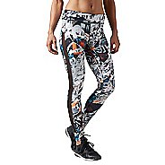 Womens Reebok Dance Garden Rebel Tights & Leggings Pants