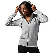 Womens Reebok Elements Full-Zip Half-Zips & Hoodies Technical Tops