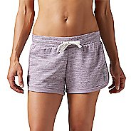 Womens Reebok Elements Melange Unlined Shorts