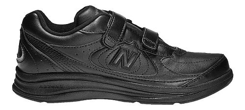 Mens New Balance 577v1 Hook And Loop Walking Shoe - Black 15