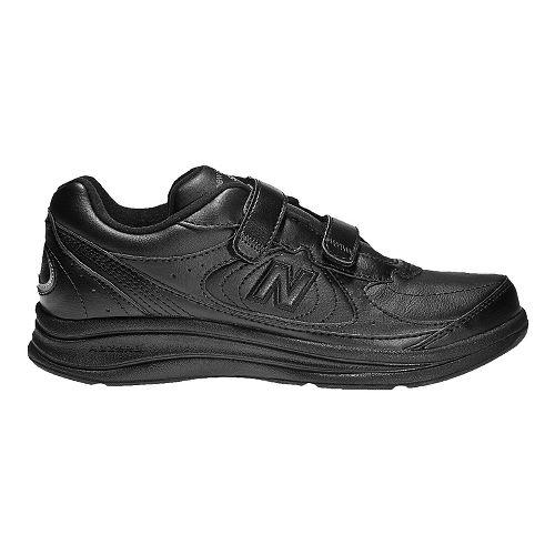 Mens New Balance 577v1 Hook And Loop Walking Shoe - Black 8