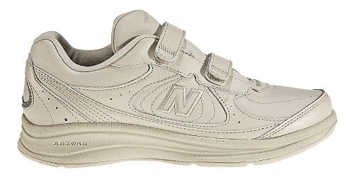 Mens New Balance 577v1 Hook And Loop Walking Shoe - Bone 8.5
