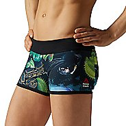 Womens Reebok CrossFit Reversible Hidden Jungle Bootie Unlined Shorts
