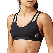 Womens Reebok CrossFit Skinny Double Strap Sports Bras