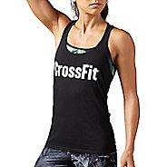 Womens Reebok CrossFit F.E.F Graphic Sleeveless & Tank Tops Non-Technical Tops