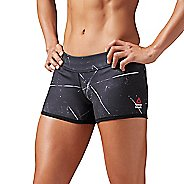 Womens Reebok CrossFit Reversible Chalk Chase Bootie Unlined Shorts