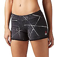 Womens Reebok CrossFit Reversible Chase Mid-Length Unlined Shorts