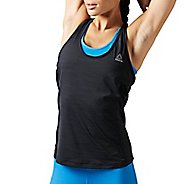 Womens Reebok Running Essentials ACTIVCHill Tank Unlined Technical Tops