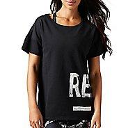 Womens Reebok Studio Favorites Tee Short Sleeve Non-Technical Tops