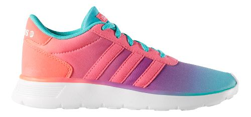 Kids adidas Lite Racer Casual Shoe - Mint/Pink 7Y