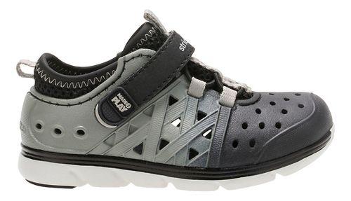 Stride Rite M2P Phibian Sandals Shoe - Black/Grey 4C