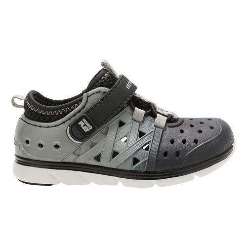 Stride Rite M2P Phibian Sandals Shoe - Black/Grey 13C