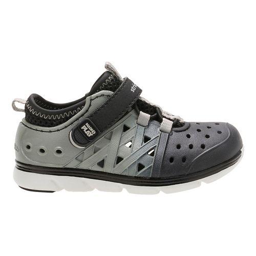 Stride Rite M2P Phibian Sandals Shoe - Black/Grey 1Y
