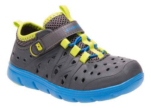 Stride Rite M2P Phibian Sandals Shoe - Grey 3Y