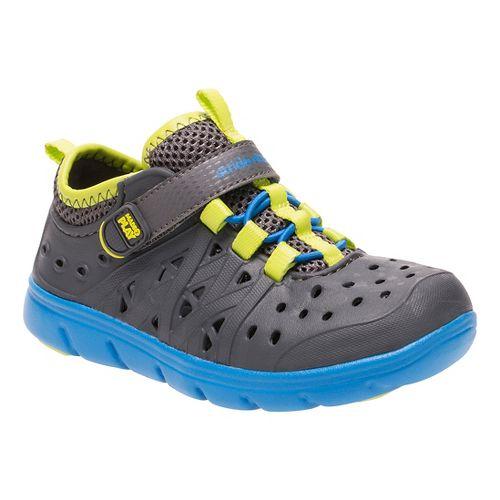 Stride Rite M2P Phibian Sandals Shoe - Grey 5Y