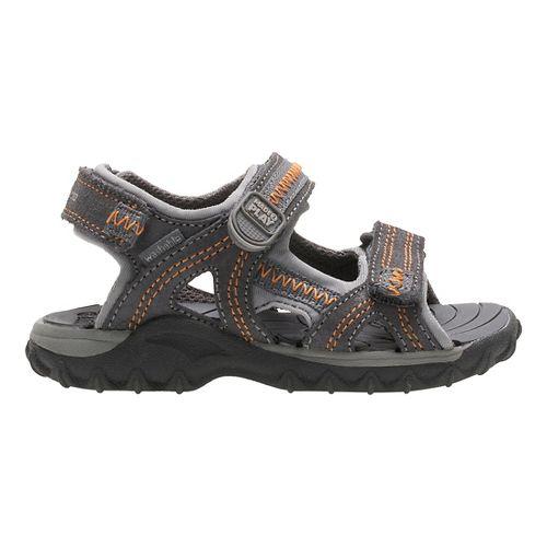 Stride Rite M2P Isaac Sandals Shoe - Grey 9C
