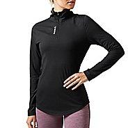 Womens Reebok Workout Ready Supremium 2.0 1/4 Zip Half-Zips & Hoodies Technical Tops