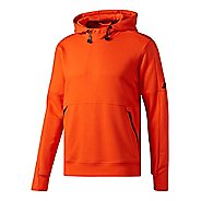 Mens Adidas Sport ID French Terry Pullover Half-Zips & Hoodies Technical Tops