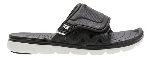 Stride Rite M2P Phibian Slide Sandals Shoe - Black/White 4Y