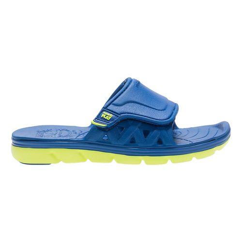 Stride Rite M2P Phibian Slide Sandals Shoe - Royal Blue 1Y